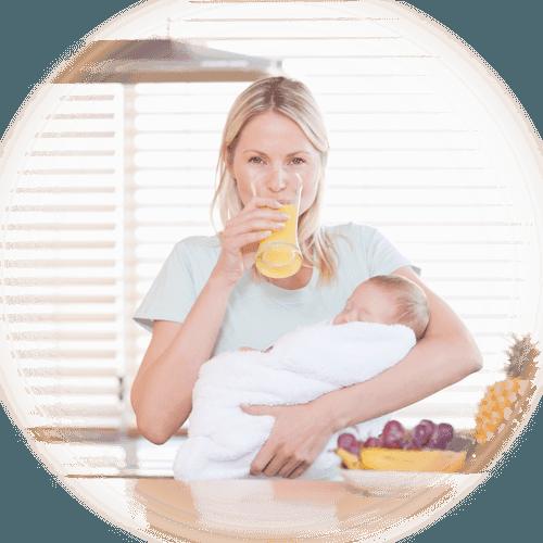 Nutrición post parto